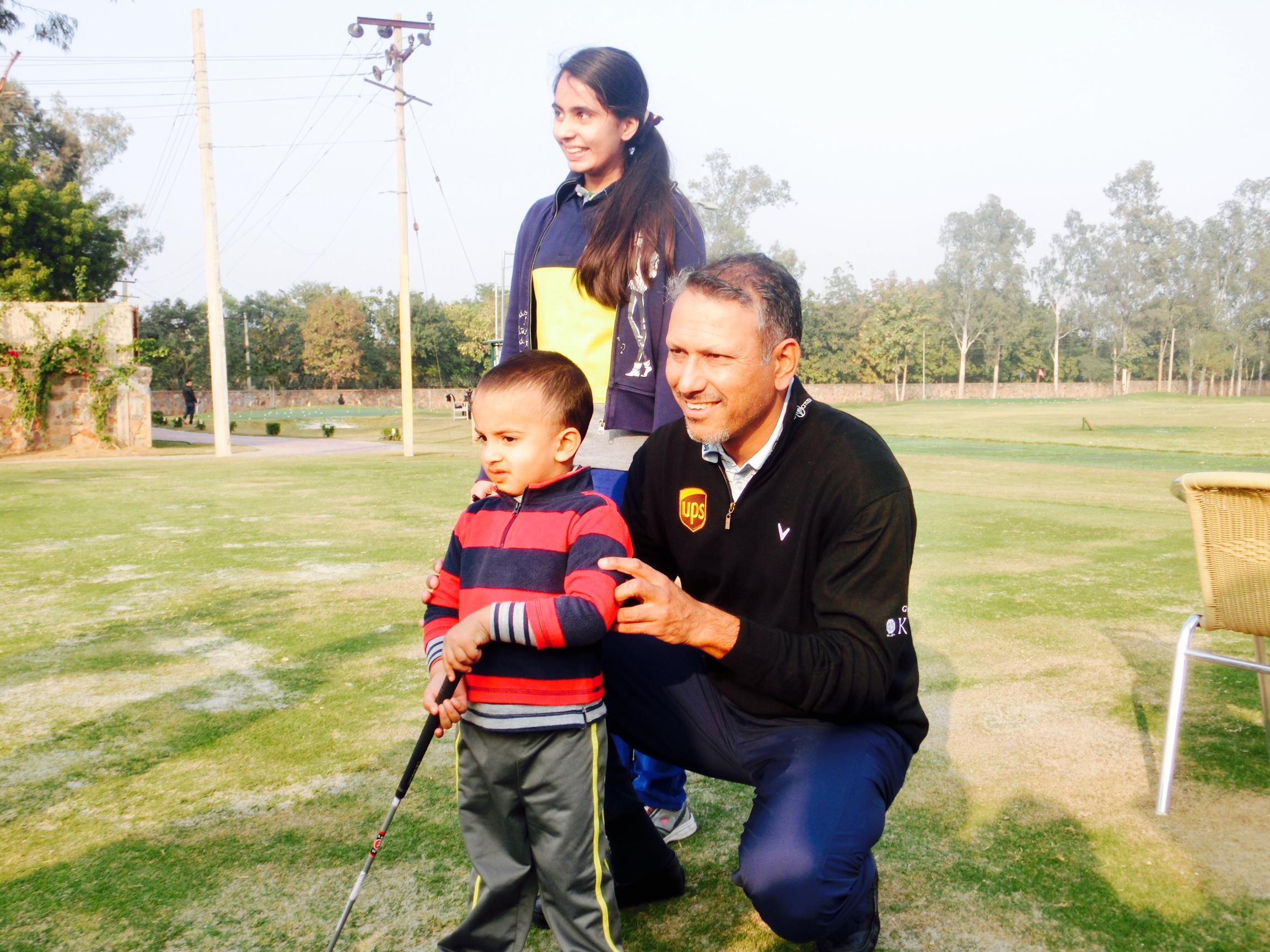 Jeev Milkha Singh at HGC