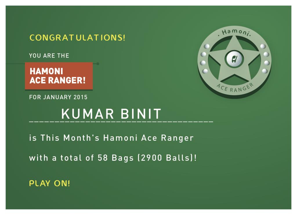 Ace Ranger_Certificate_Jan15_KumarBinit