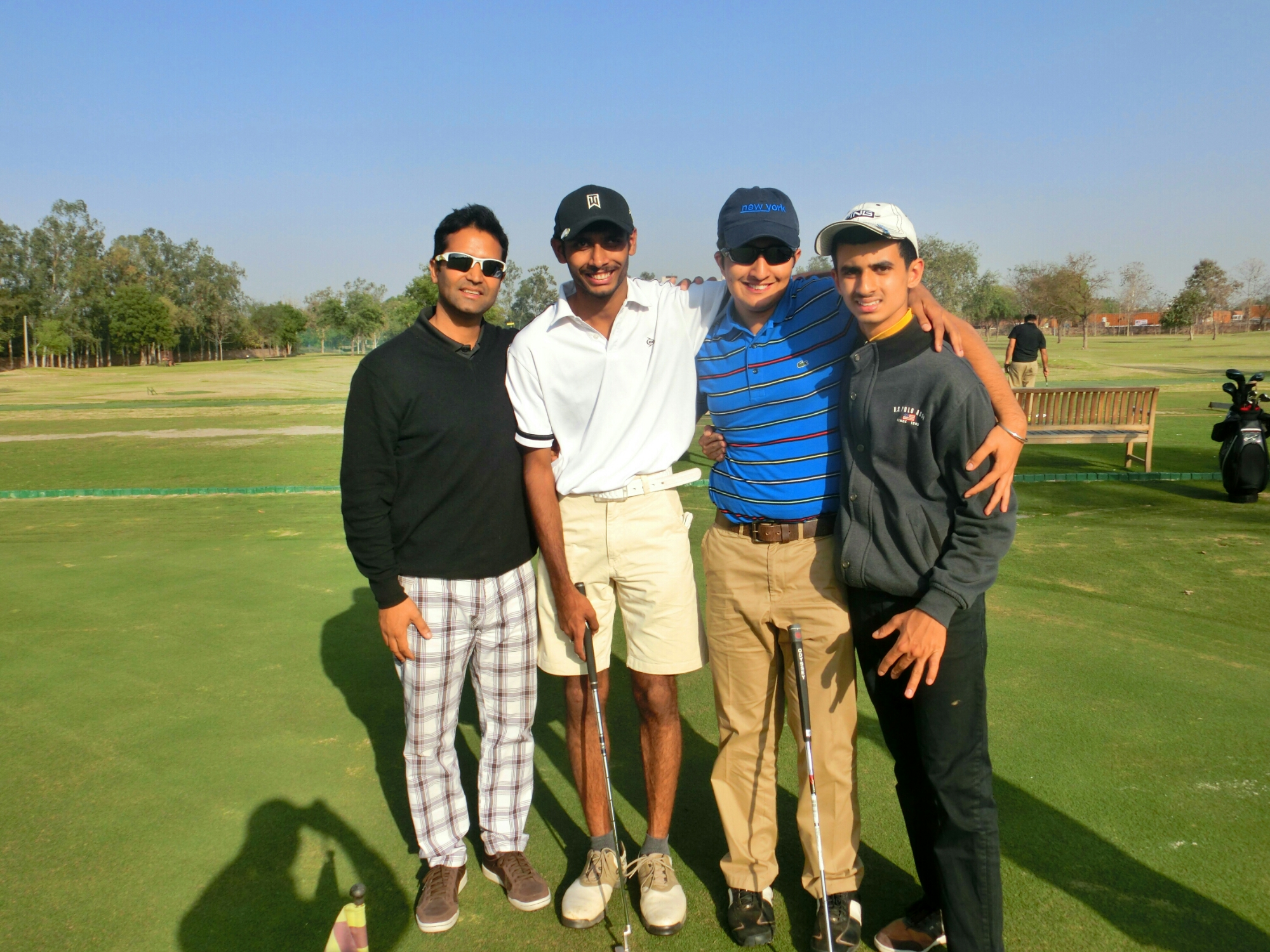 Indian Paralympics Golf Team at HGC