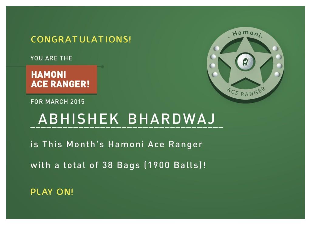 Ace Ranger_Certificate_Mar15_AbhishekBhardwaj