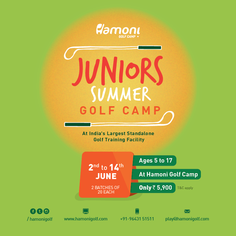 HGC Juniors Summer Golf Camp Enrolment Starts TODAY!
