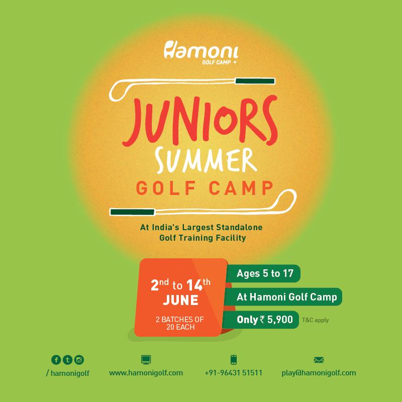 HGC Juniors Summer Golf Camp Enrolment Starts TODAY!