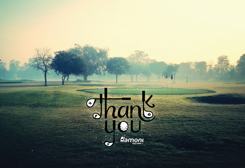 Hamoni Golf Camp Turns 1! Thank You!