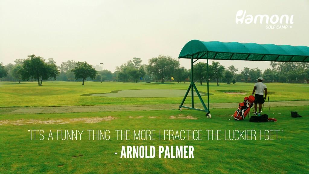 Hamoni Golf Practice