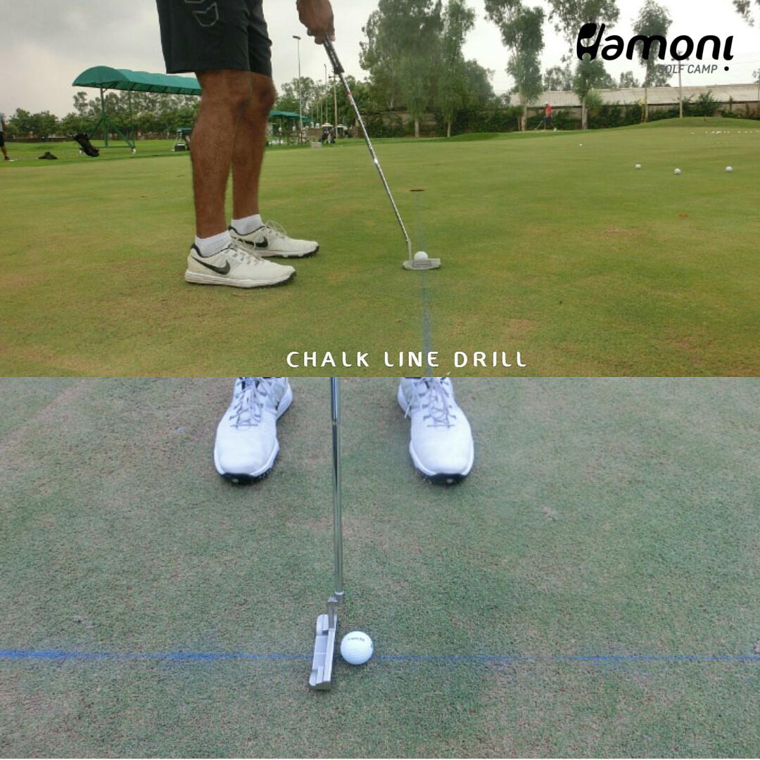 Chalk line drill