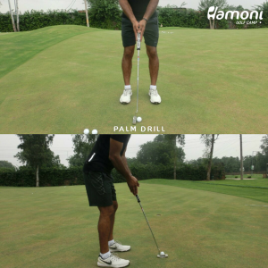 palm together drill