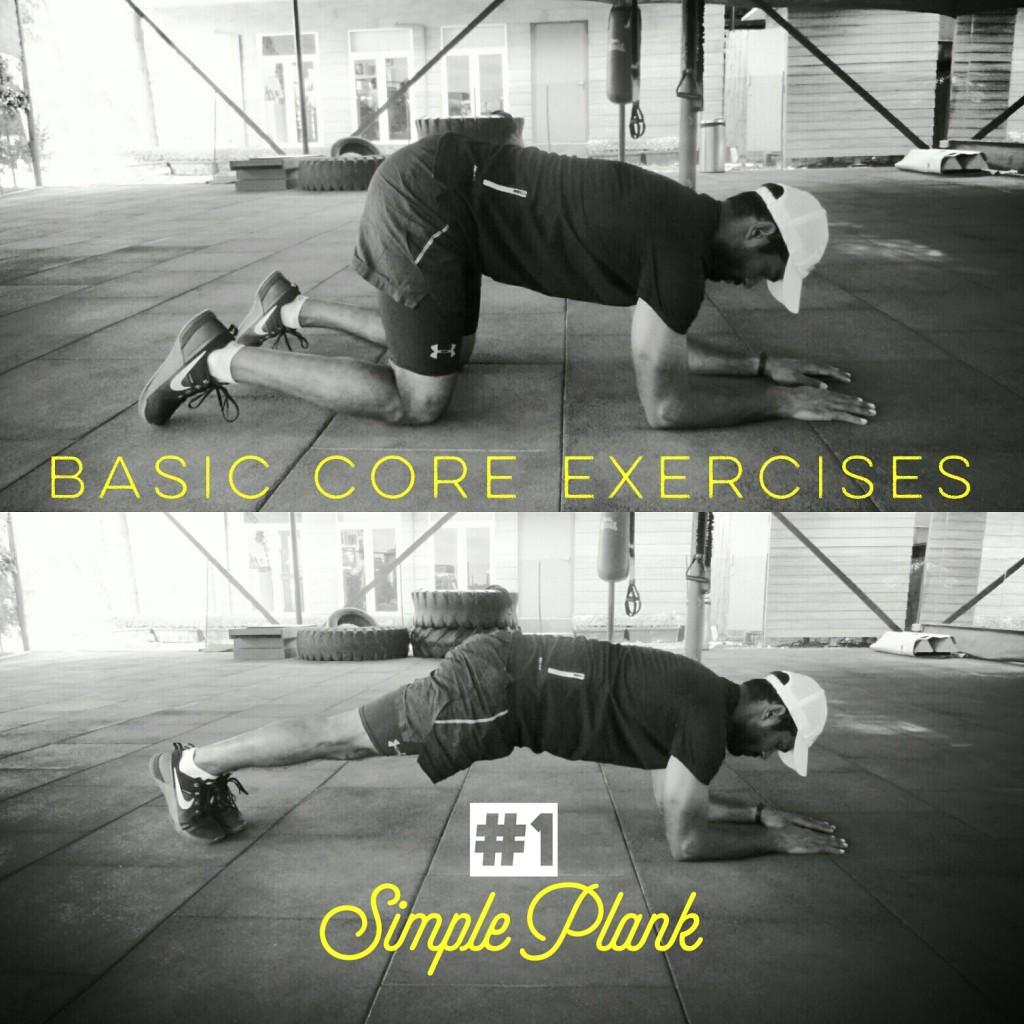 Simple plank