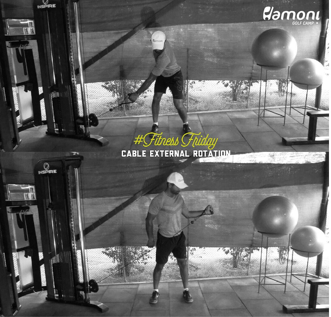 HGC FITNESS FRIDAY: Cable External Rotation
