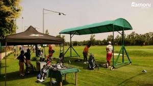 golf club fitting session