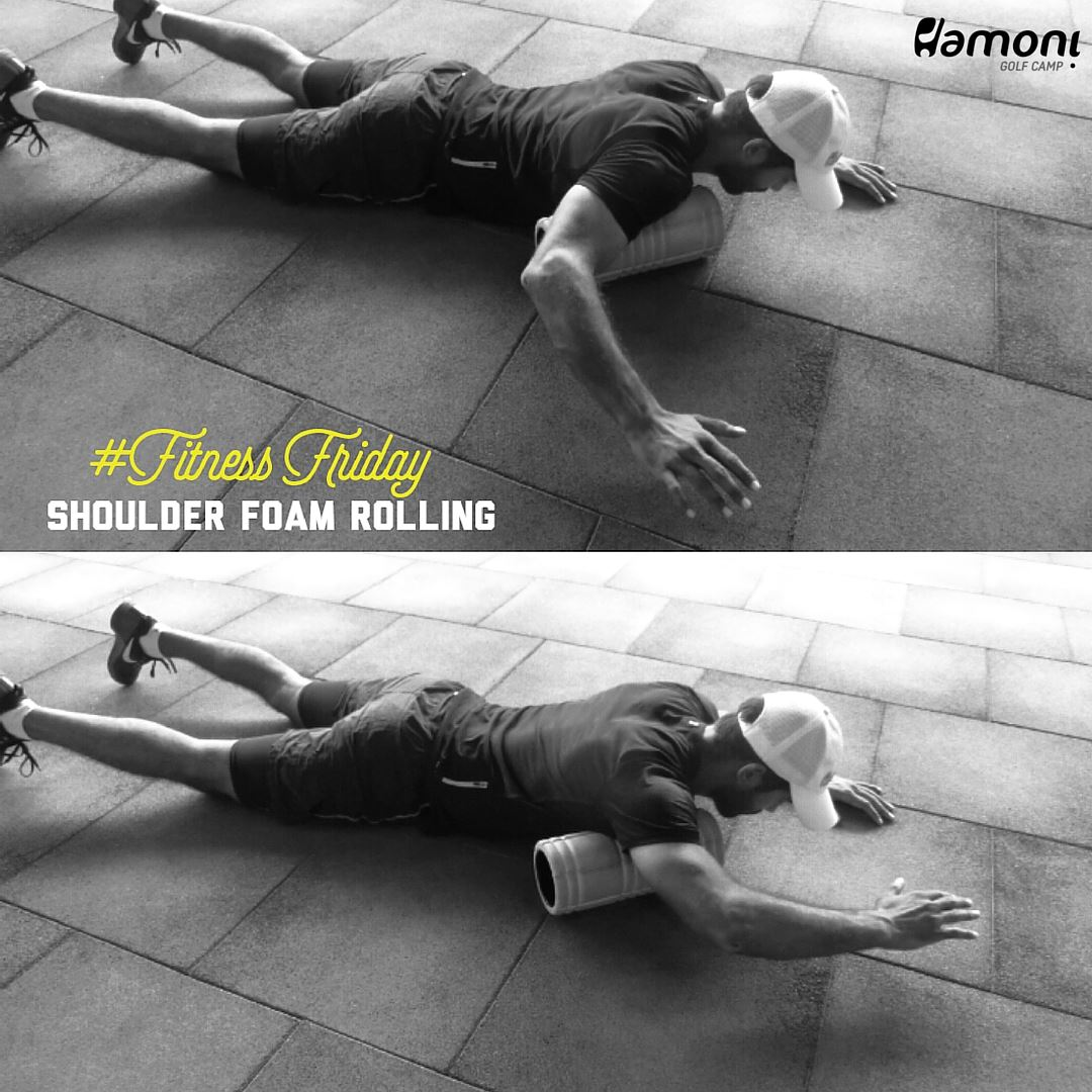HGC FITNESS FRIDAY: Shoulder foam rolling exercise