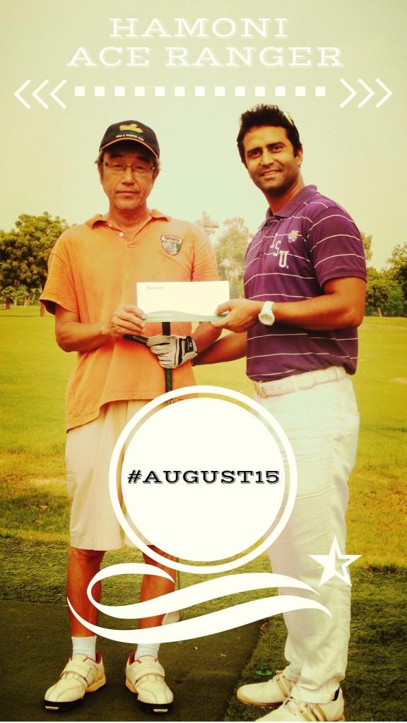 Ace golf event in delhi