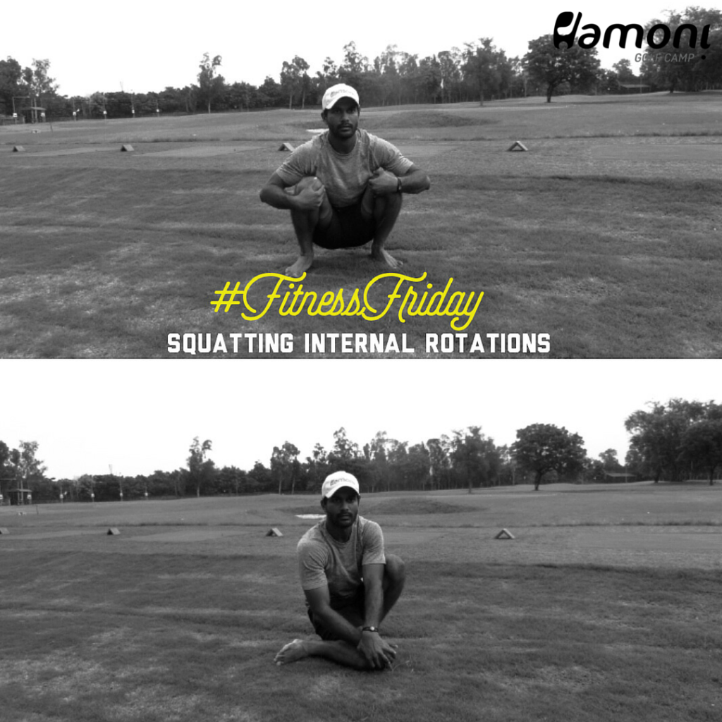 Golf fitness exercise learn