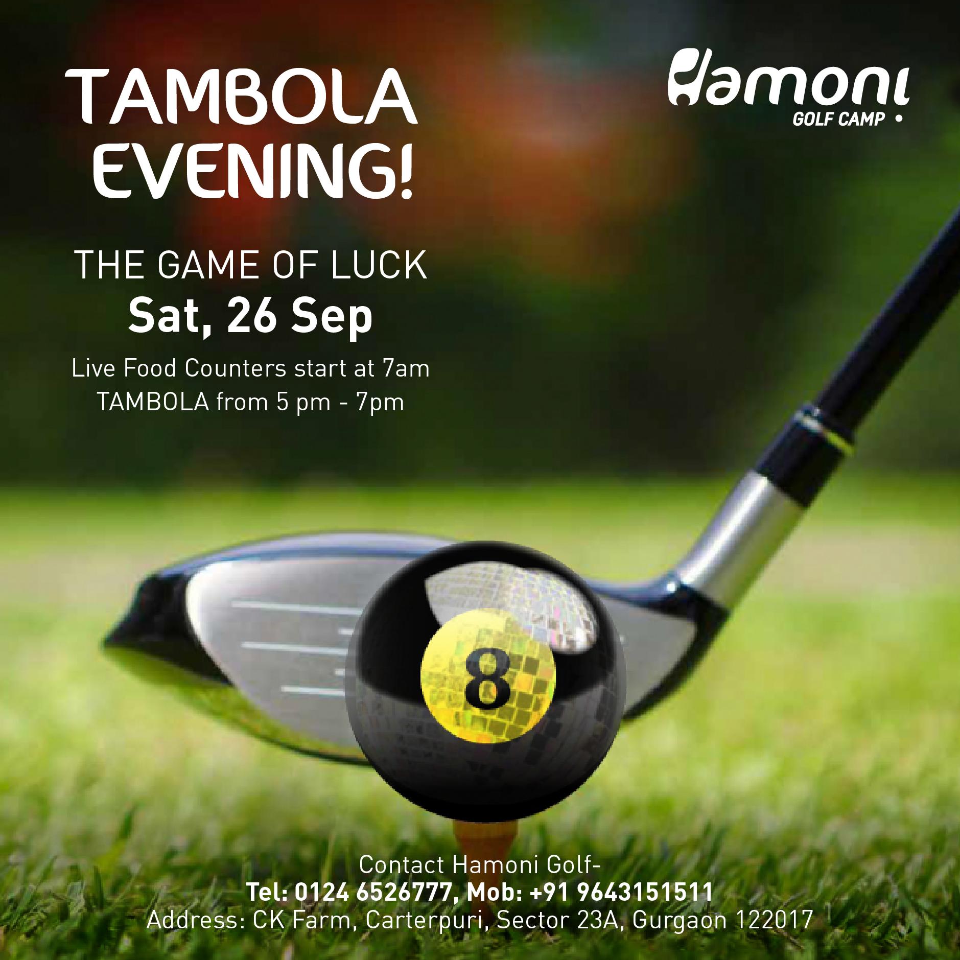 TAMBOLA EVENING