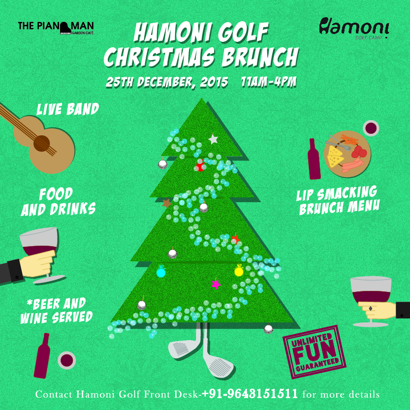 Hamoni Golf Christmas Brunch