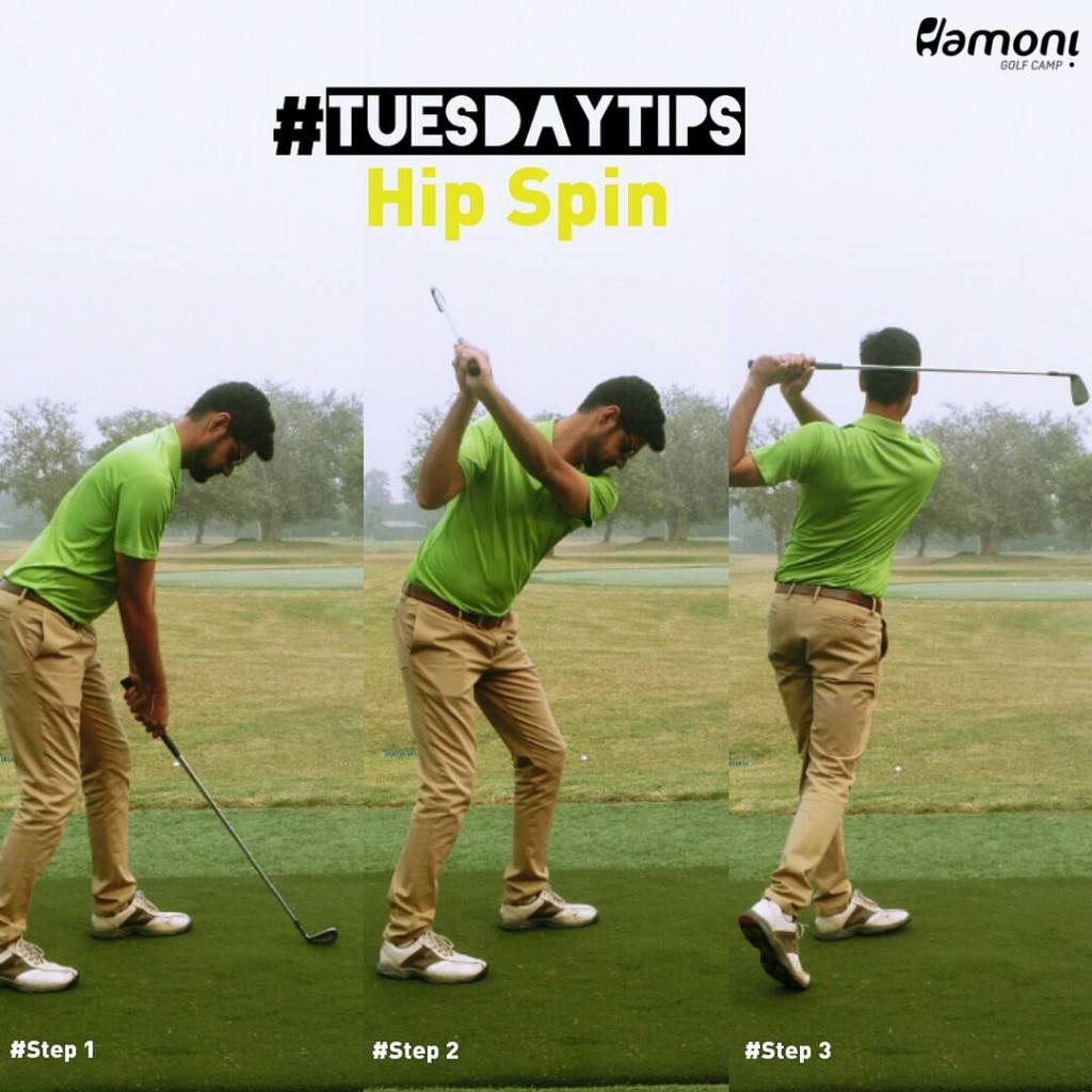 Golf Hip Spin