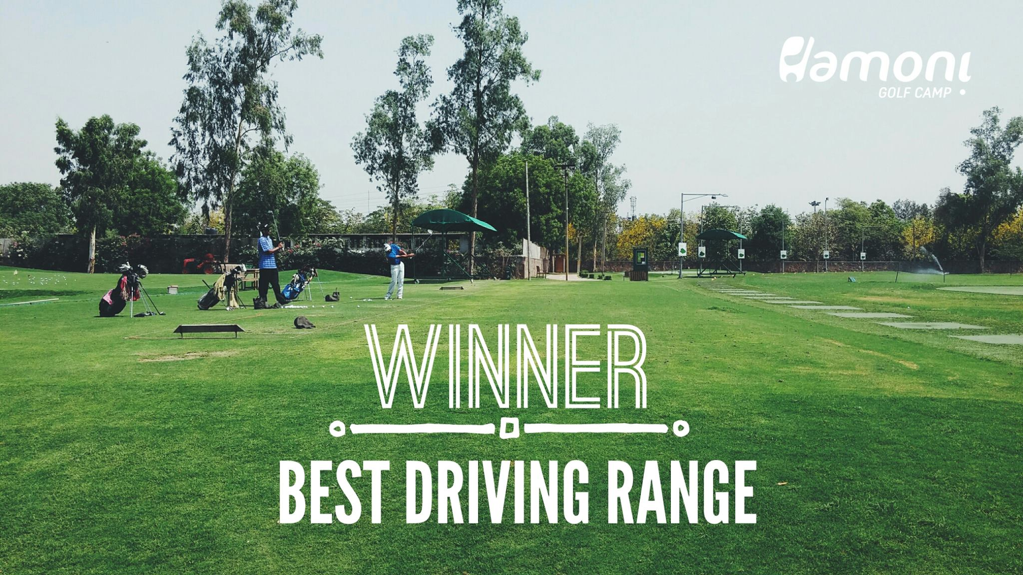 Hamoni Golf Camp wins the Best Driving Range Award at The Indian Golf Expo, 2016!
