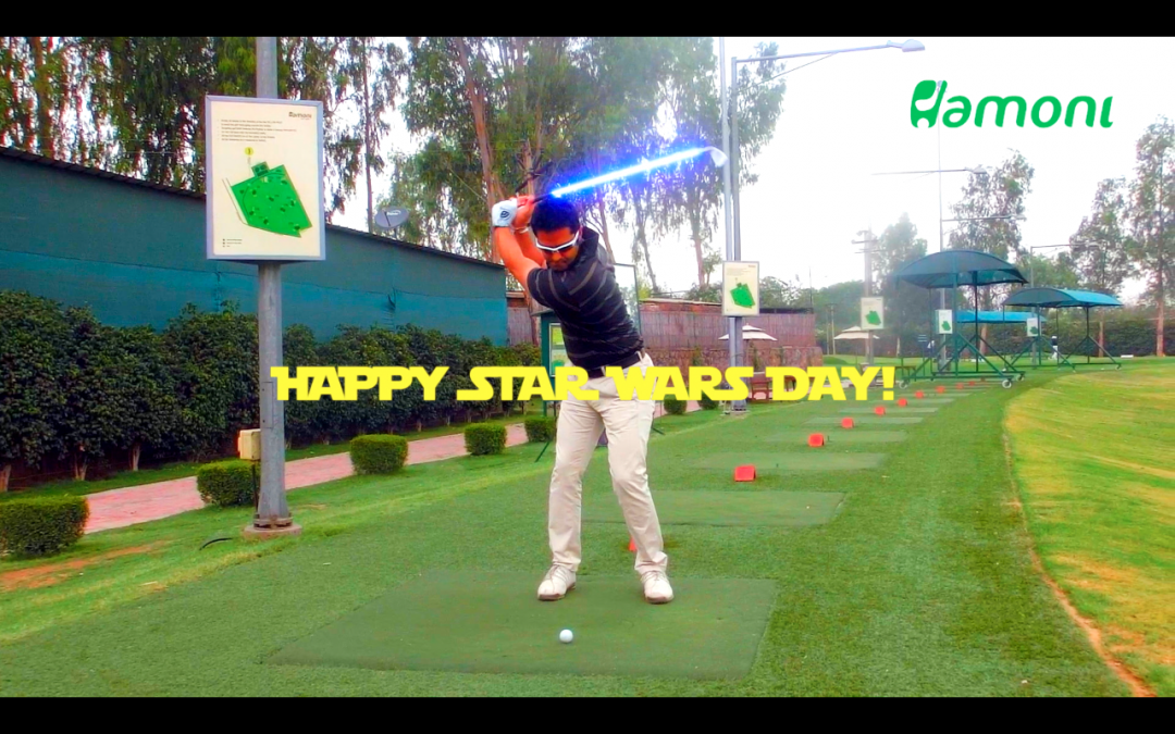 Star Wars Day: The Jedi Golfer