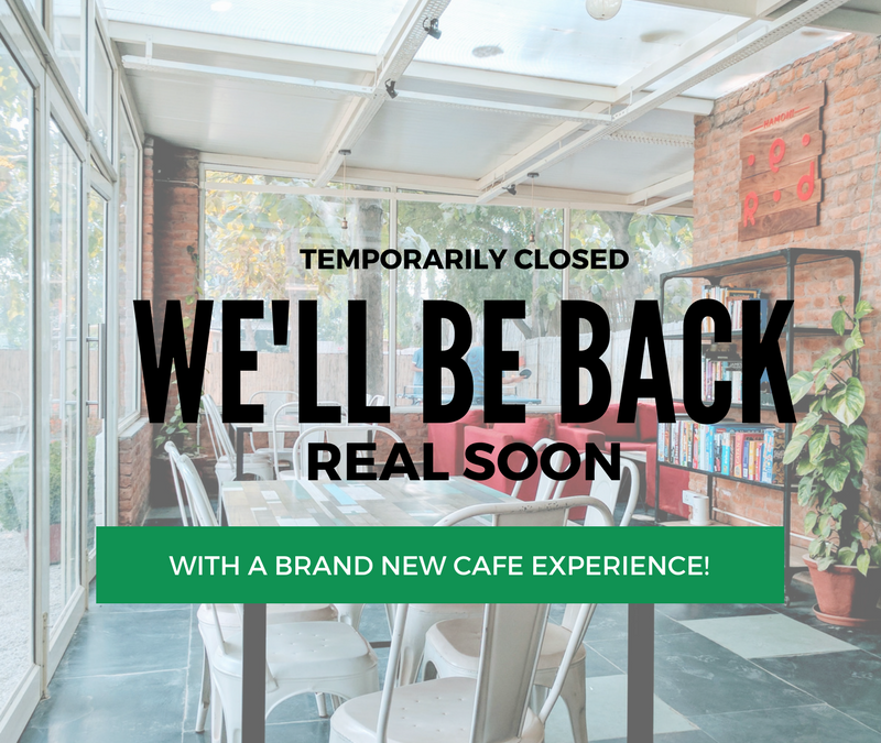 Cafe Services Temporarily Closed: We'll Be Back Real Soon!