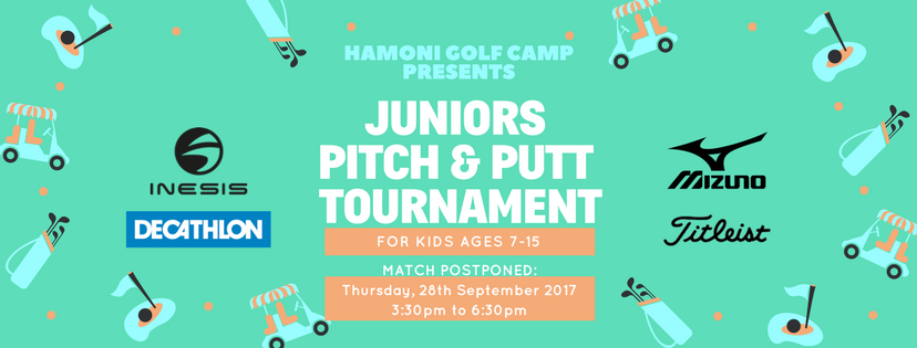 HGC Juniors Pitch & Putt Tournament