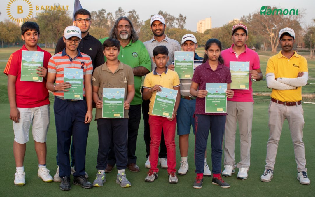 Junior Short Game Master Class with Faisal Qureshi